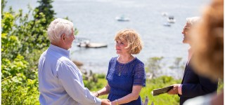 50th Anniversary Vow Renewal Pemaquid Maine