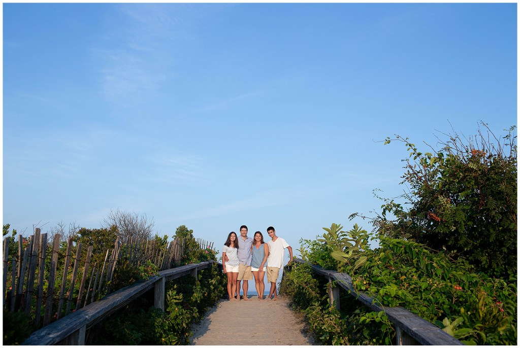 Ogunquit Maine Footbridge Beach Family Photo