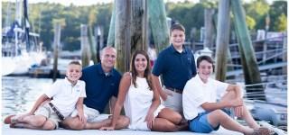Maine Family Photo Rockport