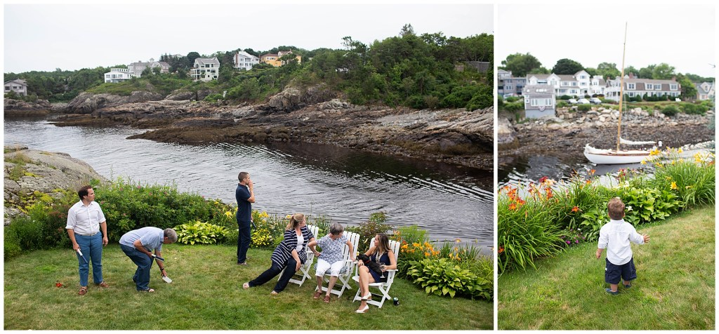 Perkins Cove Ogunquit Maine Family Photographer