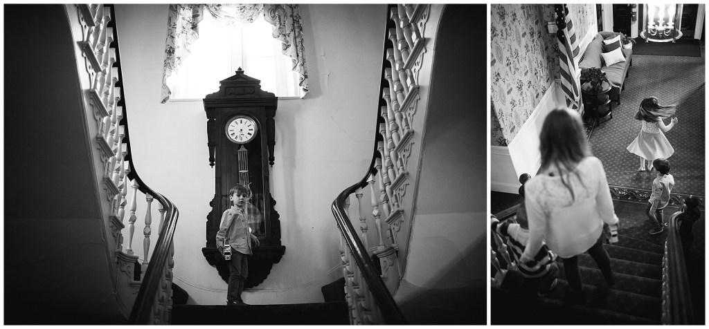 Portland Maine Cumberland Club staircase