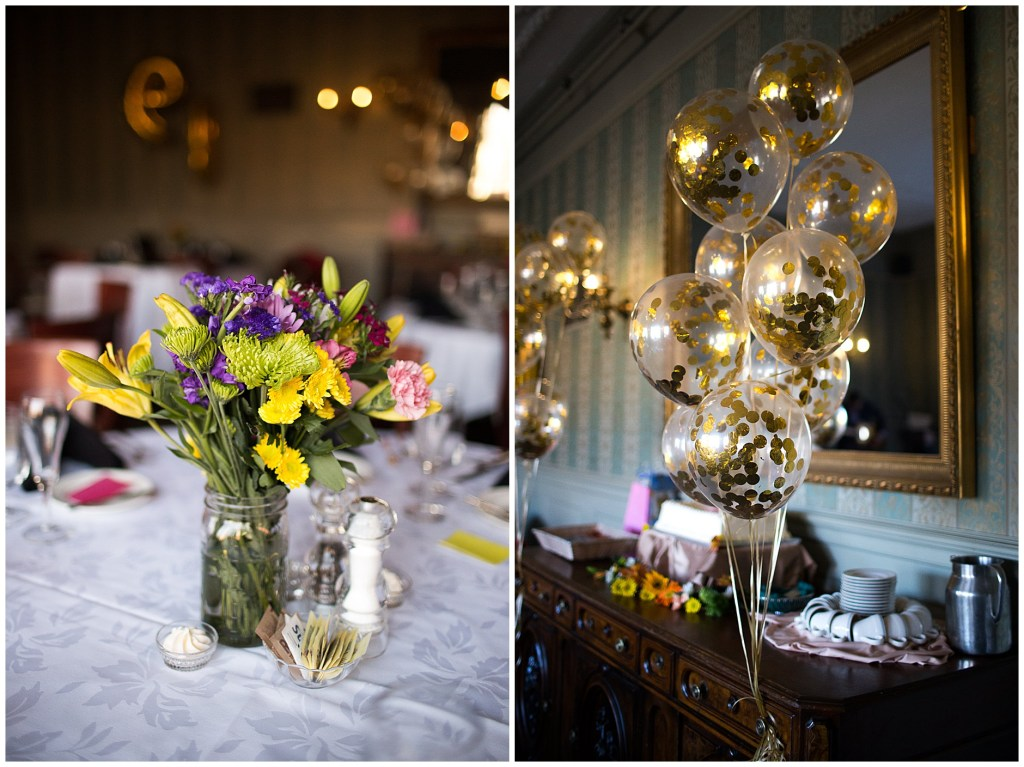 Party Details at the Cumberland Club Portland Maine