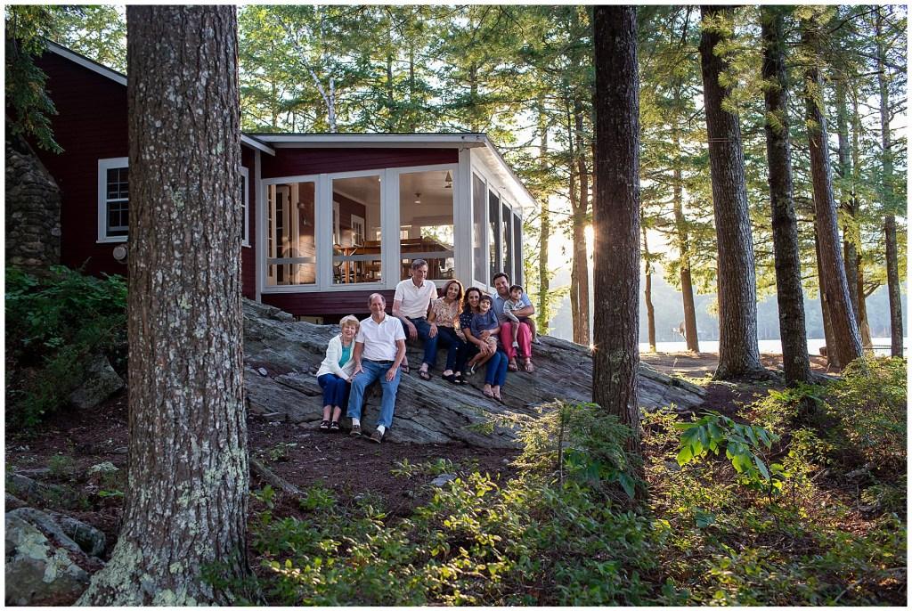 Family Summer Cabin on Damariscotta Lake Jefferson Maine
