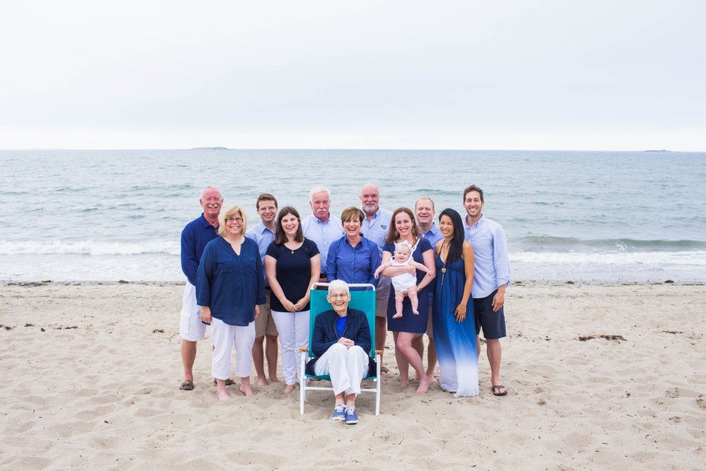 Ferry Beach Saco Maine Family Portrait