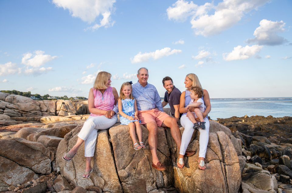 Kennebunkport Family Session at home | testimonial | Sarah Jane Photography