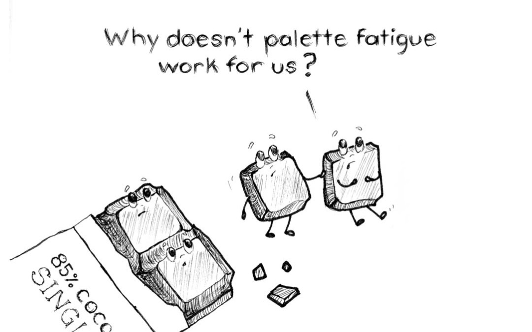 Why doesn't Palette Fatigue work for Chocolate?