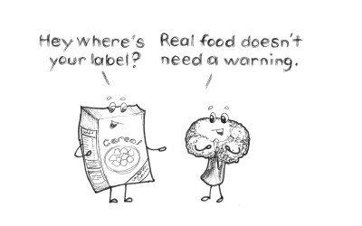 """The real reason that we have """"nutritional"""" labels at the grocery store."""