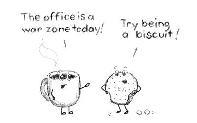 Are you feeling overwhelmed? Is your office a war-zone?