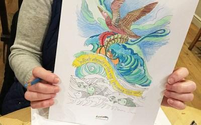 Why are so many Adults taking up Colouring?