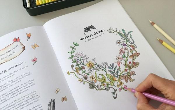 Sarah Jane Vickery Overcoming Artistic Roadblocks in Veronica's Garden