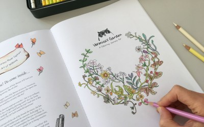 Overcoming Creative blocks: How taking my own advice helped my Colouring Journey