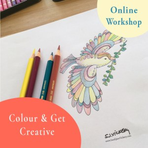 Colour & Get Creative Online Workshop for Adults
