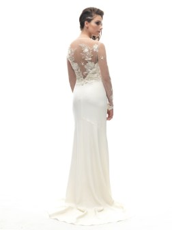 Gilver Embroidered tulle overlay