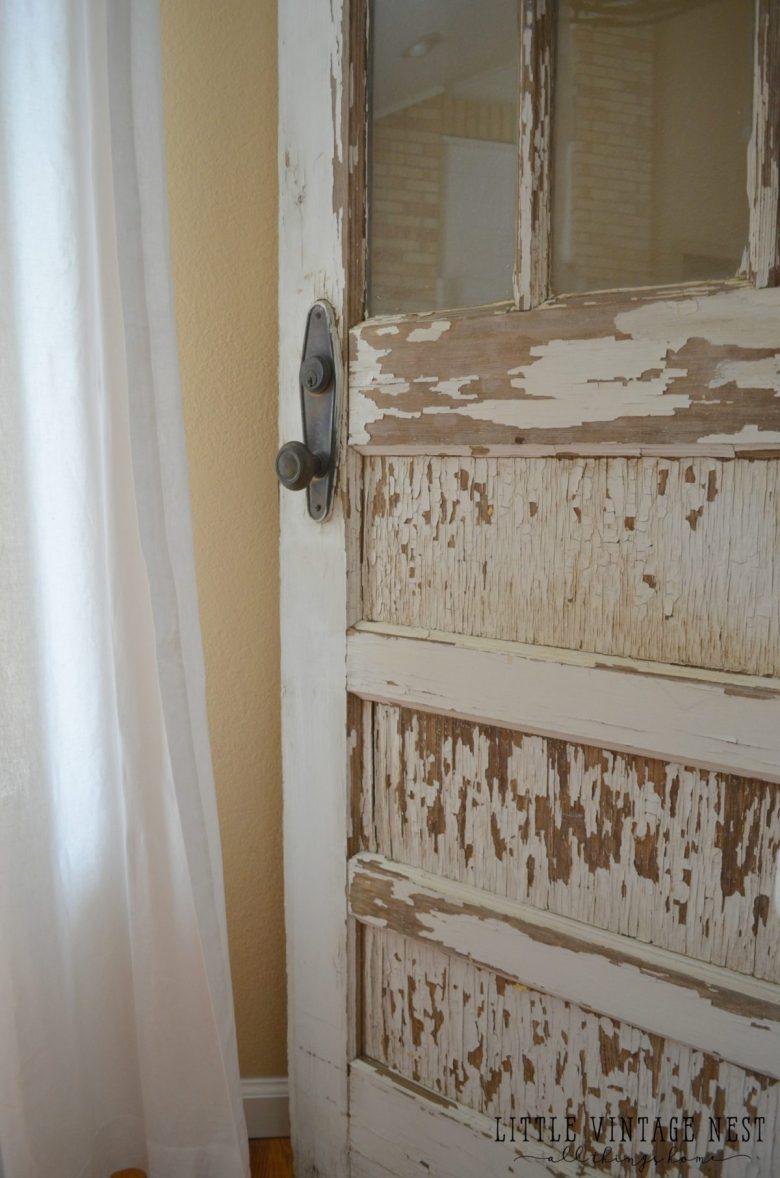 Old chippy door