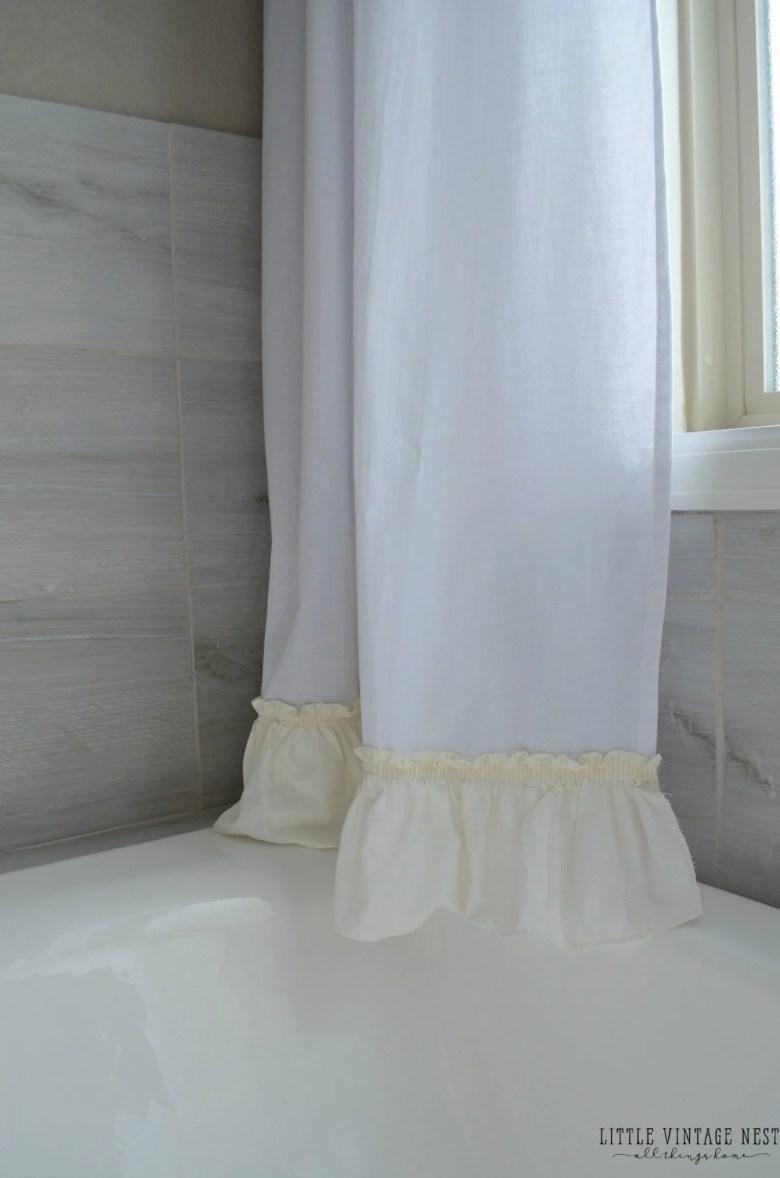 No Sew Farmhouse Curtains