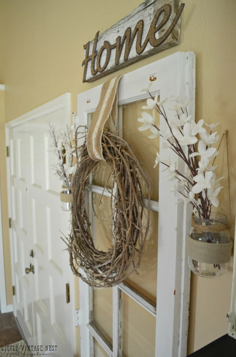 Old Door in Entryway