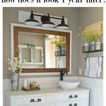 Honest Review Of My Chalk Painted Bathroom Vanities
