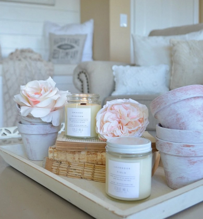 Friday Favorites: All natural soy candle from Gold Hill Candle