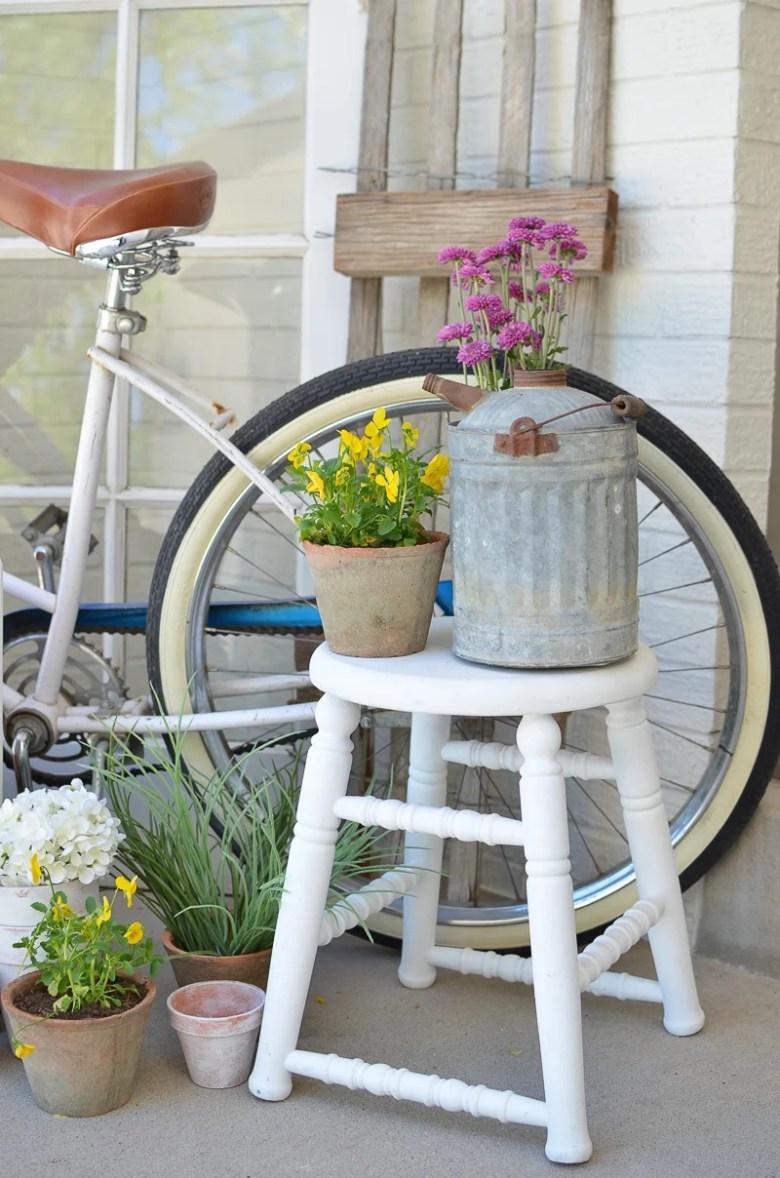 Farmhouse Style Summer Porch
