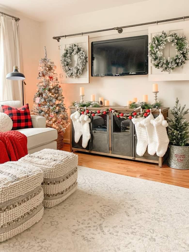 Our Cozy Christmas Living Room