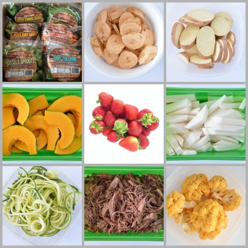 Whole30 MealPrep Items
