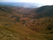The road up Tabayesco.