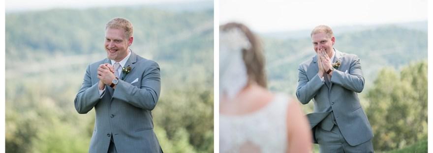 Groom is shocked when he sees his bride