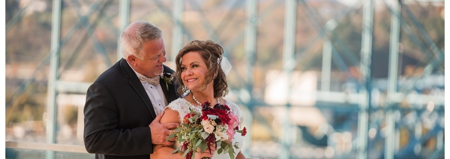 Chattanooga walnut street bridge wedding