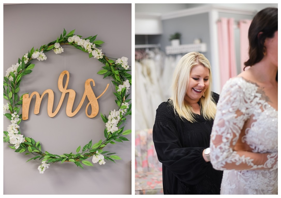 Mrs bridal shop