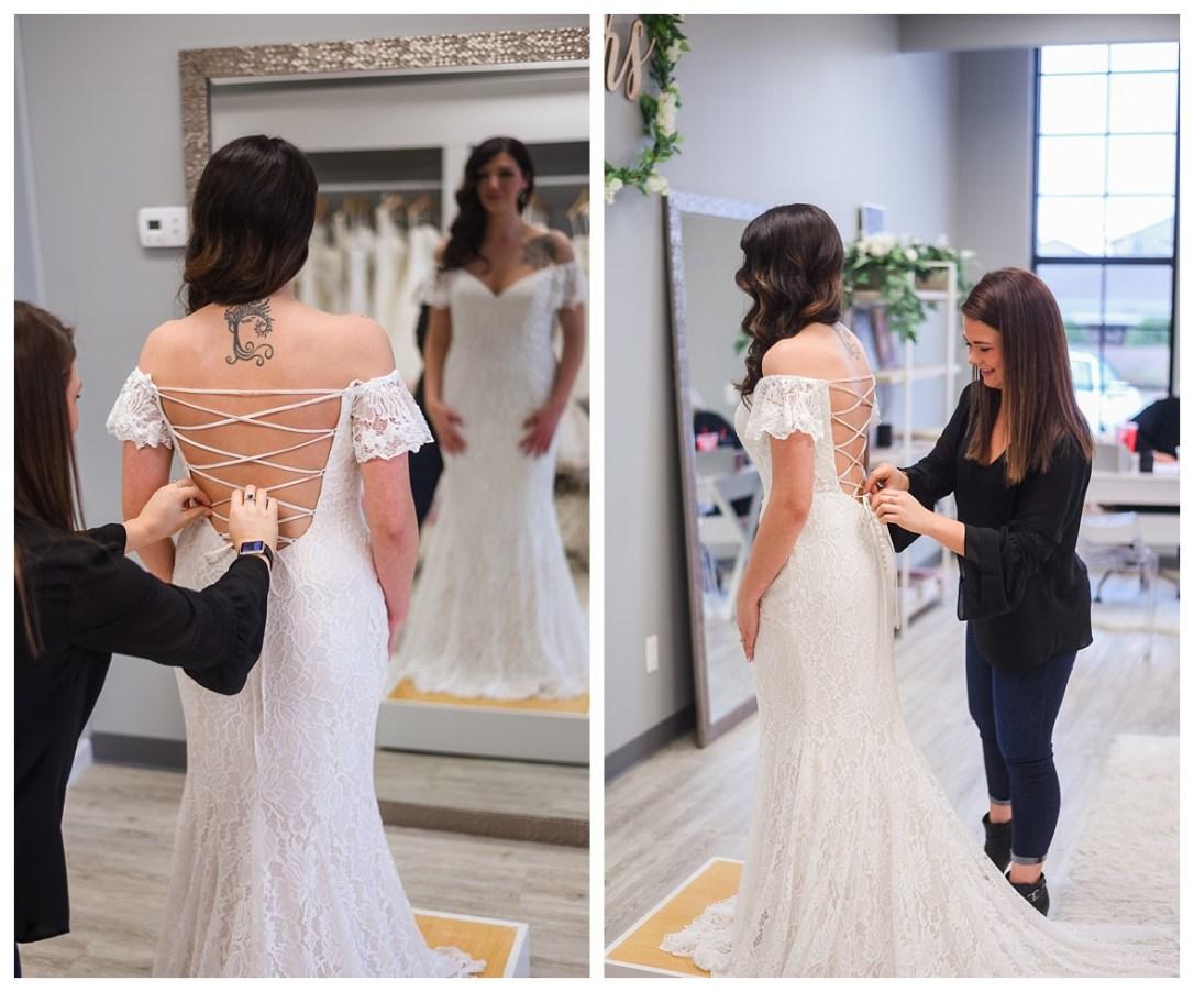 corset back lace wedding dress