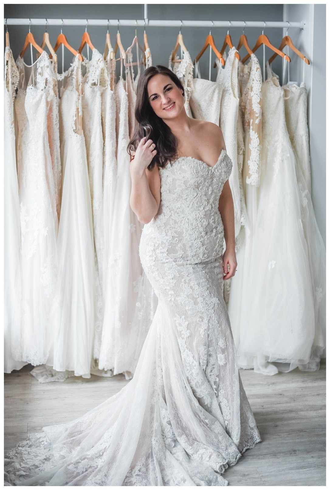 sweetheart lace wedding dresses