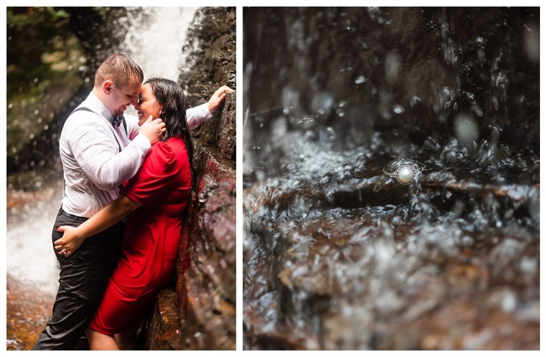 kissing under benton falls