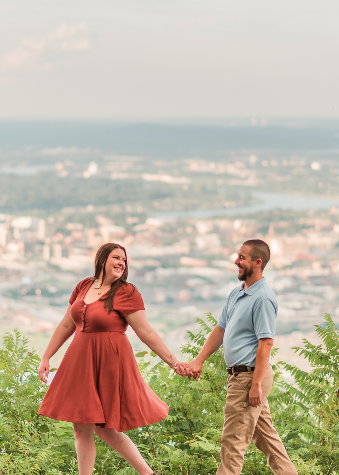 Point Park Engagement Photos
