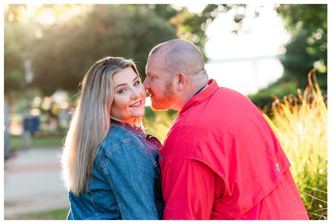 Engagement photos in coolidge park