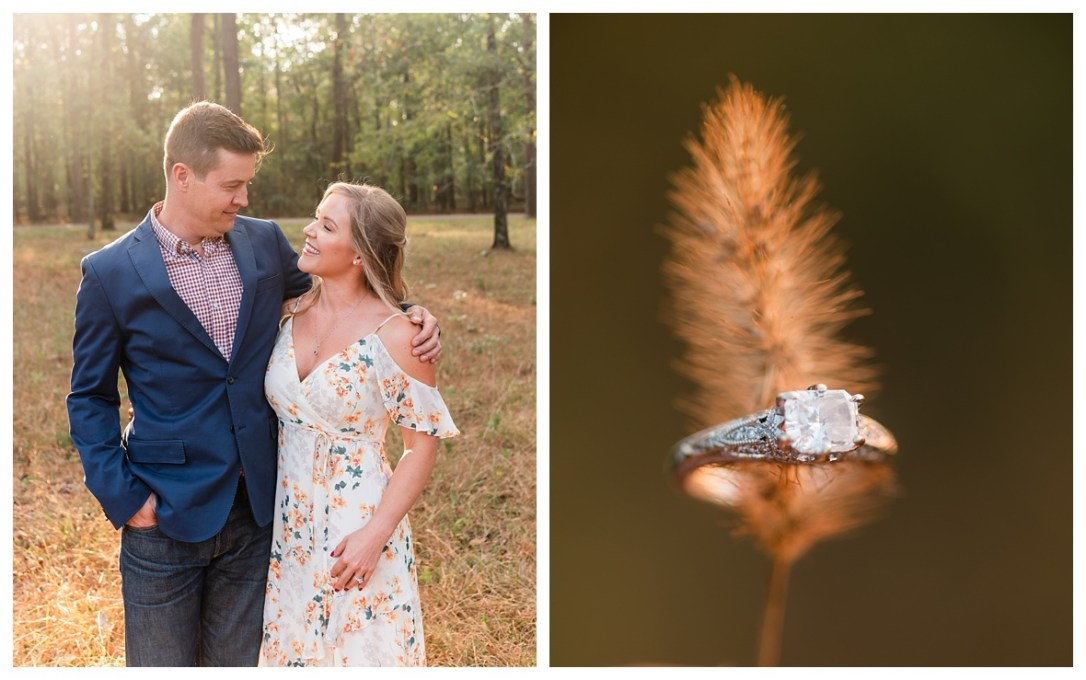 light and airy engagment photos