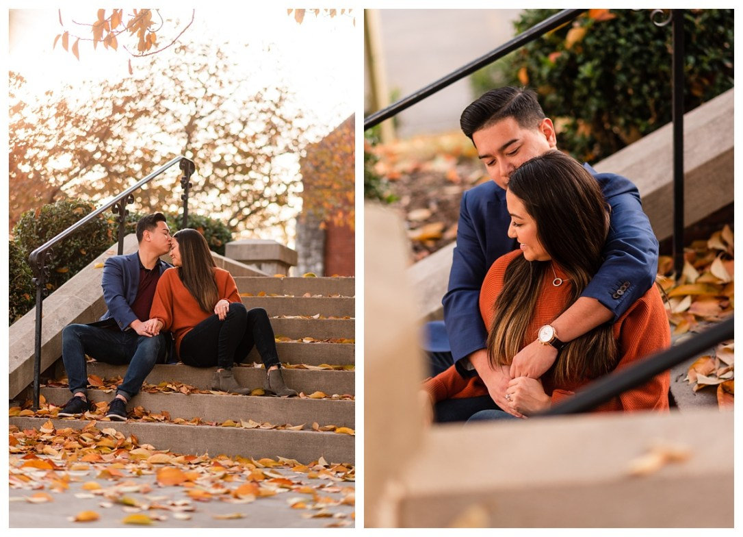 Chattanooga fall engagement ideas