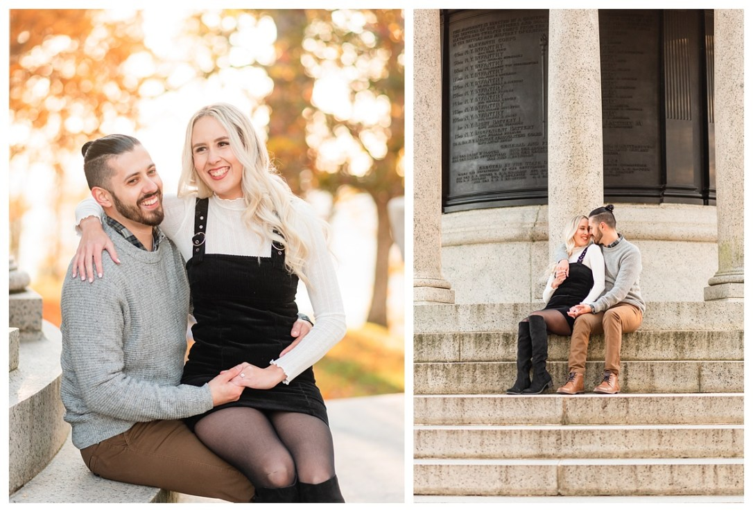 engagement photos on lookout mountain