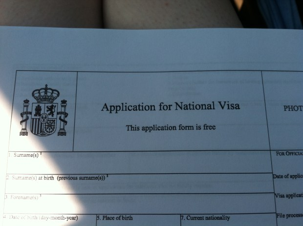 application for student visa form