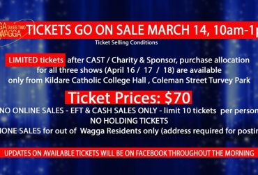 wagga wagga takes two - tickets