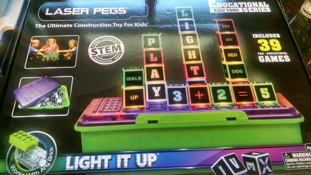 Laser Pegs Educational Series