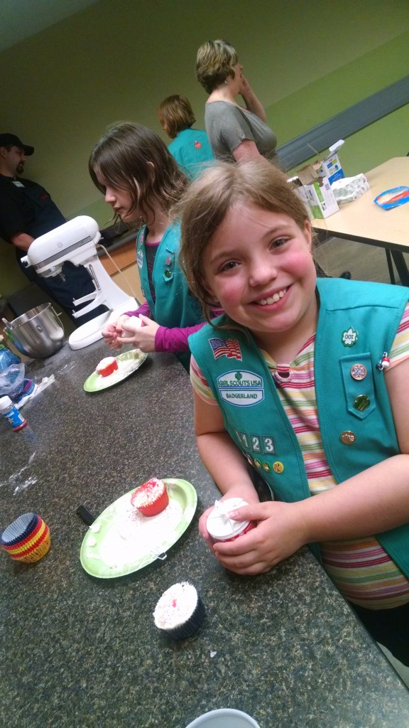 I Earned My Simple Meals Patch in Girl Scouts