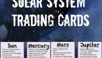 Solar System Free Printable Learning Cards