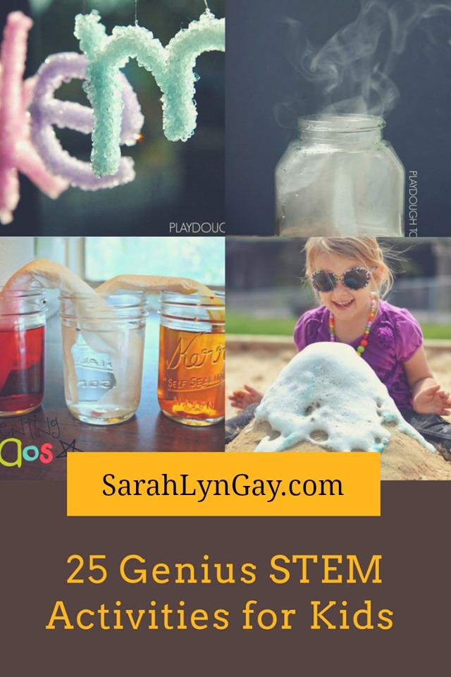 25 Genius STEM Activities for Kids