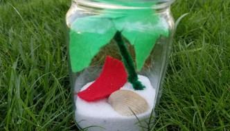 Nim's Island Study Unit and Island in a Jar Craft Idea