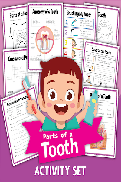 Our Tooth Activity Set Free Printable