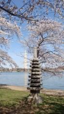 Japanese pagoda, George Washington monument