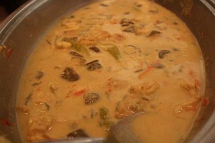 Coconut curry eel, KaLui Restaurant, Puerto Princesa, Palawan, Philippines