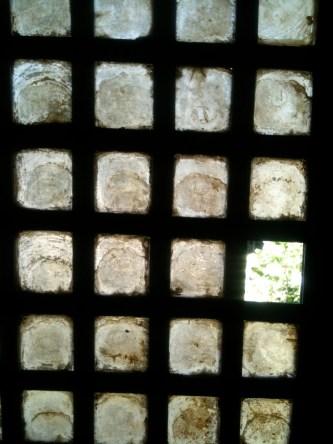 Capiz window detail, Rizal Shrine, Philippines