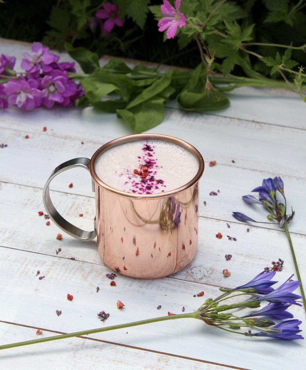 Vanilla Pitaya Latte