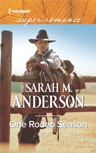One Rodeo Season by Sarah M. Anderson cover image